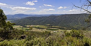 Harry Power - View from Power's Lookout.