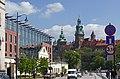 Powisle street, Krakow, Poland.jpg