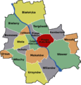 Praga South Warsaw District Map.png