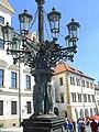 Praha, Hradčanské náměstí, kandelábr (Aw58) SDC11835.JPG