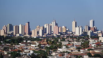 Presidente Prudente, São Paulo - Image: Presidente Prudente