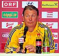 Pressekonferenz nach dem Fußballländerspiel Österreich-Ukraine (01.06.2012) Oleh Blochin2.jpg