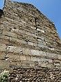 Prieuré de Serrabone - Mur du transept - Appareillage.jpg