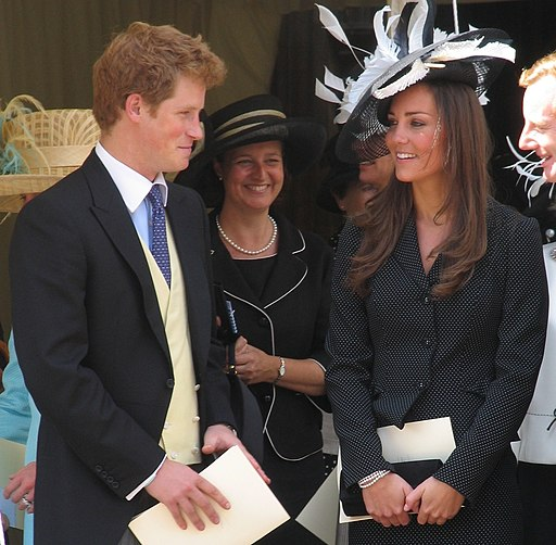 Prince Harry and Kate Middleton in 2008
