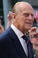 Prince Philip in Berlyn, 2015