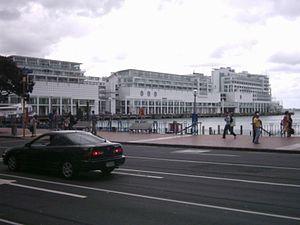 Princes Wharf - Princes Wharf as seen from Quay Street.