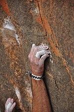 Prise escalade falaise rocher main arquée.jpg