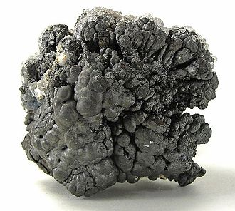 Ore - Manganese ore – psilomelane (size: 6.7 × 5.8 × 5.1 cm)