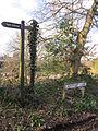 Public bridleway, Lightfoot Lane, Heswall (1).JPG