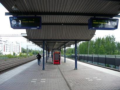 Kuinka päästä määränpäähän Puistolan Asema käyttäen julkista liikennettä - Lisätietoa paikasta
