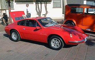Puma (car manufacturer) - 1977–1980 model Puma GTE