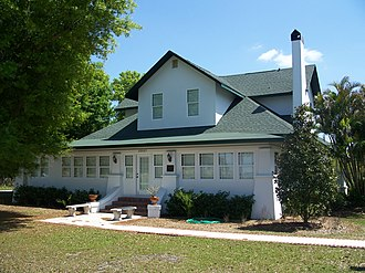 National Register of Historic Places listings in Charlotte County, Florida - Image: Punta Gorda FL Babcock House 01