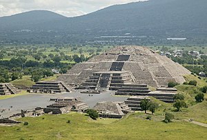 Step pyramid - Pyramid of the Moon, Teotihuacan, Mexico
