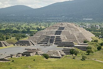 Pyramid - Pyramid of the Moon, Teotihuacan