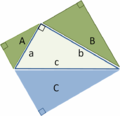 Pythagoras by similar triangles.PNG