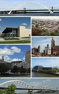 Quad Cities Metropolitan area in the United States