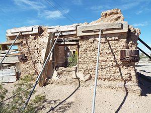 Fort Tyson - Image: Quartzsite Fort Tyson Ruins 1856 5