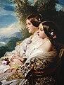 Queen Victoria and her cousin the Duchess of Nemours.jpg