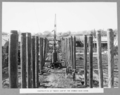 Queensland State Archives 3124 Construction of timber gantry for hammer head crane Brisbane 1 October 1935.png