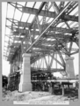 Queensland State Archives 3645 South approach junction of steel spans Nos 3 and 4 at pier No 24 showing lower lateral bracing Brisbane 20 April 1937.png