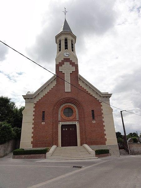 Quierzy (Aisne) église
