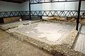 Quintanilla de la Cueza Villa romana Tejada Habitación 24 Mosaico de Leda 006.jpg