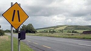 Clomantagh Hill - Image: R693 at Clomantagh, County Kilkenny, Ireland