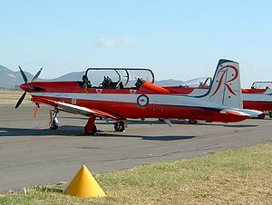 Roulettes - Pilatus PC-9A A23-061 of the Roulettes at Avalon airport, March 2005