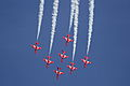RAF Red Arrows Display 01, Mahon(MAH) 26SEP12 (8027551331).jpg