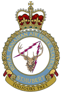 CFB St. Hubert Canadian Forces airbase in Saint-Hubert, Quebec, Canada
