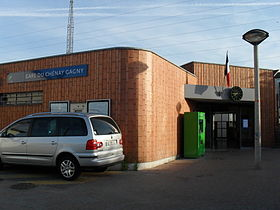 Image illustrative de l'article Gare du Chénay - Gagny