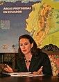 """RUEDA DE PRENSA CONJUNTA DEL VICEPRESIDENTE LENIN MORENO Y LA CANCILLER DE LA REPUBLICA MARIA FERNANDA ESPINOSA. T EMA- """"OPRTUNIDADES DEL MODELO YASNÌ-ITT"""" (2057021937).jpg"""
