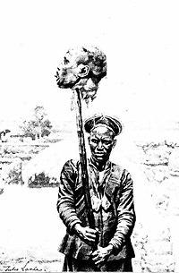 Rabih az-Zubayr, decapitated head.jpg
