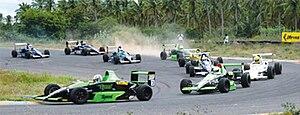 Kari Motor Speedway - A typical raceday scene at Kari Motor Speedway