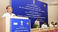 Radha Mohan Singh addressing the inaugural session of the State Food Ministers' meeting to review prices and availability of essential food items, in New Delhi. The Union Minister for Consumer Affairs.jpg