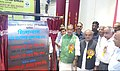 Radha Mohan Singh inaugurating the Agriculture Technical Information Centre, at the 81st Annual Conference of Rajmata Vijay Raje Sindhia Agriculture University, Gwalior, in Madhya Pradesh.jpg