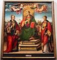 Raffaellino del Garbo (attr.) San Lorenzo fra i Santi Stefano e Leonardo 01.jpg