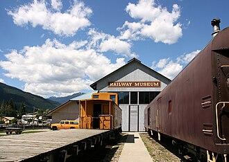 Revelstoke, British Columbia - Revelstoke Railway Museum