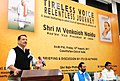 Rajiv Pratap Rudy addressing at the release of the volumes of 'Tireless Voice Relentless Journey' a compilation of key speeches of the Vice President, Shri M. Venkaiah Naidu, in New Delhi.jpg