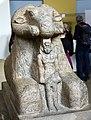Ram sphinx of king Taharqa (Taharqo), 25th (Kushite) Dynasty, 690-664 BCE. From Kawa, Sudan. The British Museum, London.jpg
