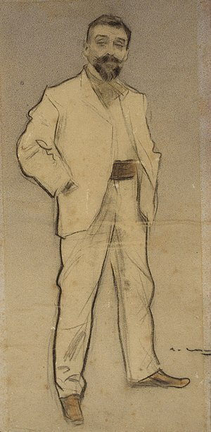 Josep Cusachs - Josep Cusachs, by Ramon Casas (date unknown)