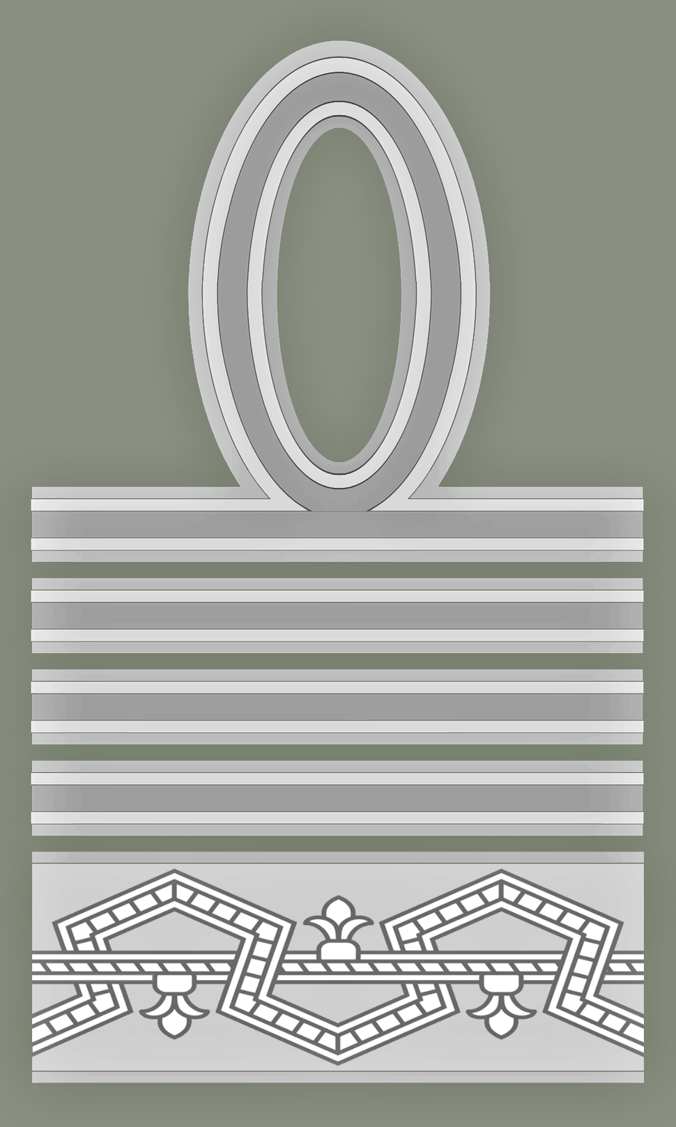 Rank insignia of maresciallo d'Italia of the Italian Army (1940)
