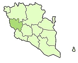 Location of Raub  ﺭﺍﻭﺏ