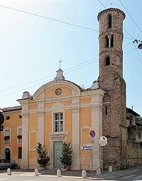 Ravenna, santi giovanni e paolo, sec xviii con campanile del IX-X, 01.JPG