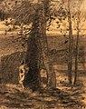 Redon - Homme dans les bois, 1865.jpg
