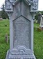 Reed Monument, Oak Spring Cemetery, 2015-06-27, 03.jpg