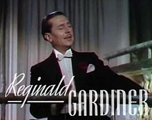 Reginald Gardiner in Sweethearts trailer.jpg