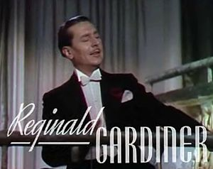 Reginald Gardiner - from the trailer of the film Sweethearts (1938)