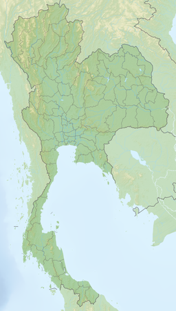Reliefkarte Thailand