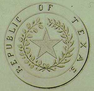 Congress of the Republic of Texas - Image: Republicseal